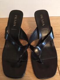 Gorgeous Prada black ladies sandals. Size 36 (3).