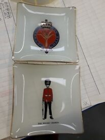 Welsh Guard dishes - collectible