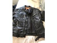 Gorgeous boys leather ben Sherman jacket 6-12 months