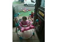 Pink Disney Minnie Mouse Jumperoo