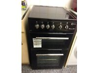 Electric cooker used once single oven separate grill
