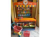 Bigjigs Wooden Village Shop