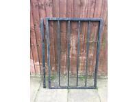 Heavy duty metal gate