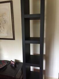 Bookcase/shelf unit, black, from Ikea