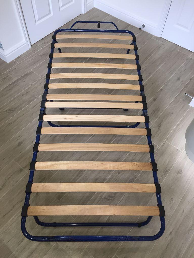 Ikea sandvika guest bed foldable camp bed no mattress for Ikea folding mattress