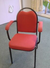 Community Stack-able Padded Chairs