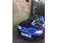 Mazda MX5 2005 1.8l Mk2.5 Convertible with chassis rails done by MX-5 restorer