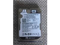 "Hard drive 2,5"" slim WD Black 320gb- Seagate 500gb - Toshiba 320gb -"