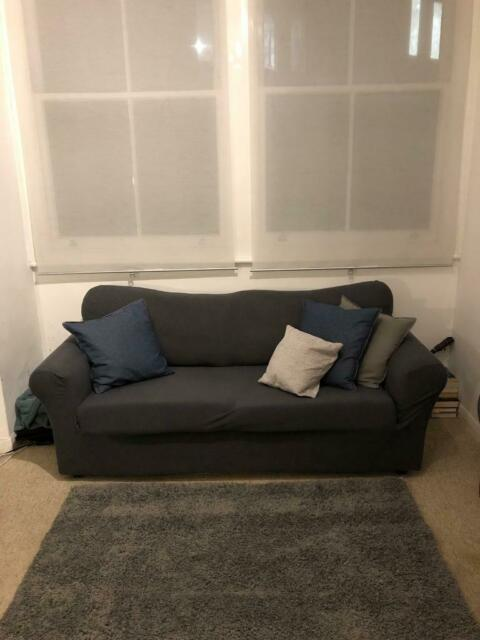 new style 13dc9 218ae Ikea (Ektorp) Sofa Bed - Comes with sofa cover | in Camden, London | Gumtree