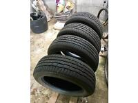4x Continental Winter tyres 225/60 R 18 104V