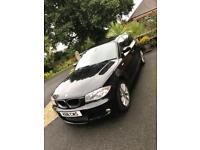 BMW 1 Series 2L M Sport 5 door Black
