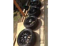 "4x19"" Genuine Audi BBS Speedline Alloys"