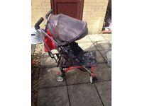 Mothercare Urbanite Stroller and Rain cover