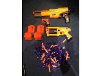 Nerf guns x 3 for sale