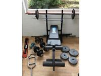Weights & Bench