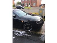 Black coupe , good condition , momocross alloys DVD/cd player car runs perfectly 4 new tyres ,