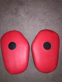 Boxing pads!