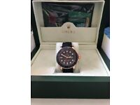 Rolex Yacht Master Everose Gold Rubber Strap New Model 116655 Watch