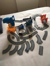 Thomas and friends two sets and extra track