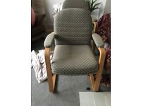 2 x sturdy chairs @@ reduced@@