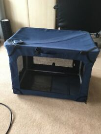 Small fabric dog crate carrier
