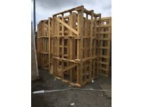 Free wood ideal for firewood or fencing and allotments
