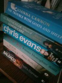 Dozens of paperback books