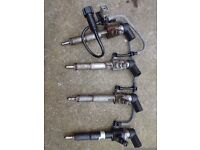 set of 4 injectors , ford mondeo, focus , conect. 1.8 tdi 2009