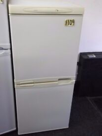 LEC FRIDGE FREEZER + FREE BH ONLY POSTCODES DELIVERY+FREE 3MTH GUARANTEE