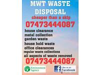 Rubbish removal / man and van / house clearance / scrap metal