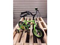 """Kids 12"""" wheel marvin the monkey bike"""