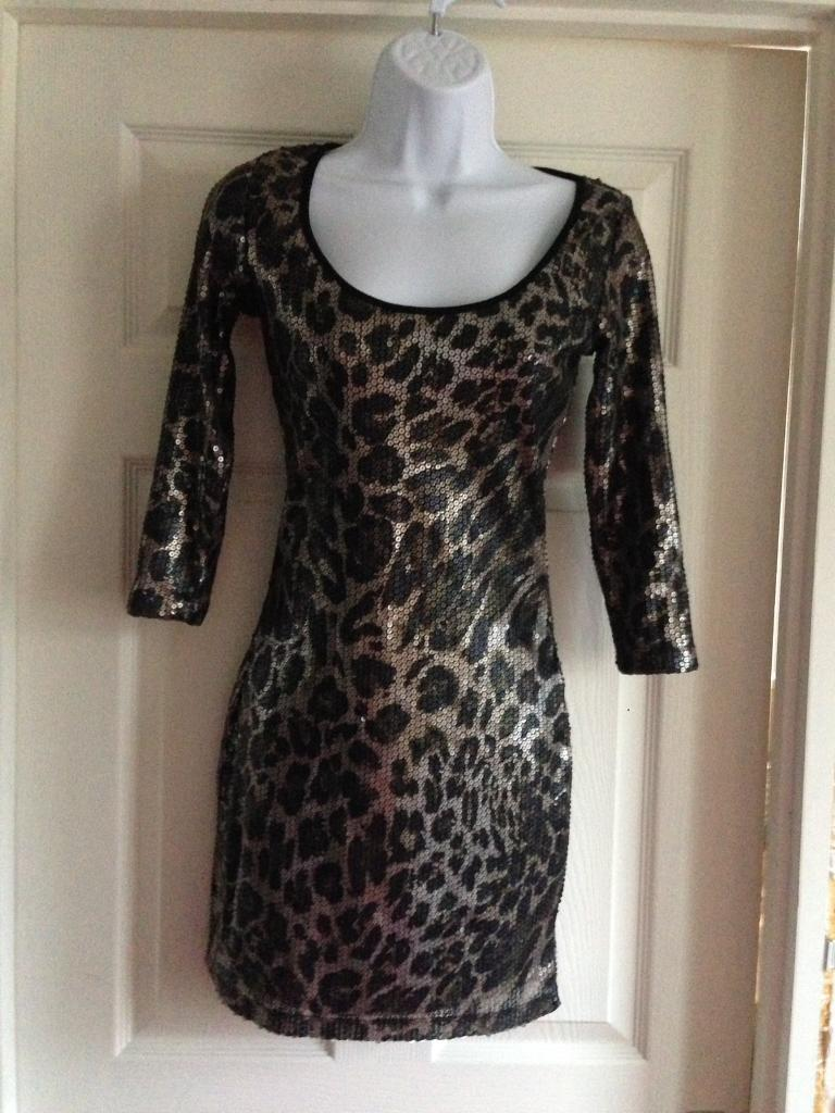 Animal print dress from Drama Queen size 6