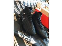 Nike Magista Obra II Tech Craft 2.0 FG - Black (ONO)