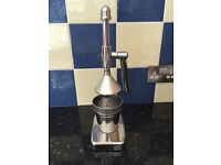 Deluxe Chrome Plated Lever-Arm Juicer
