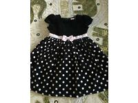 Beautiful American Dress size 2-4 y- perfect condition