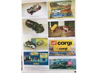 ALL VINTAGE DINKY , MATCHBOX , LONE STAR ,BRITAINS , CORGI, HOTWHEELS , MECCANO , COLLECTIONS