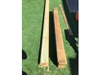Brand new spare feather edge single fencing panels x 22 - surplus
