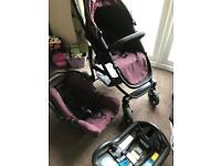 Grace evo pushchair, Car seat and isofix