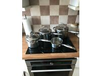 Set of 4 sauce pans