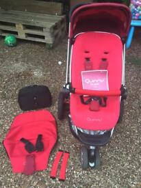 Red Quinn's puschair