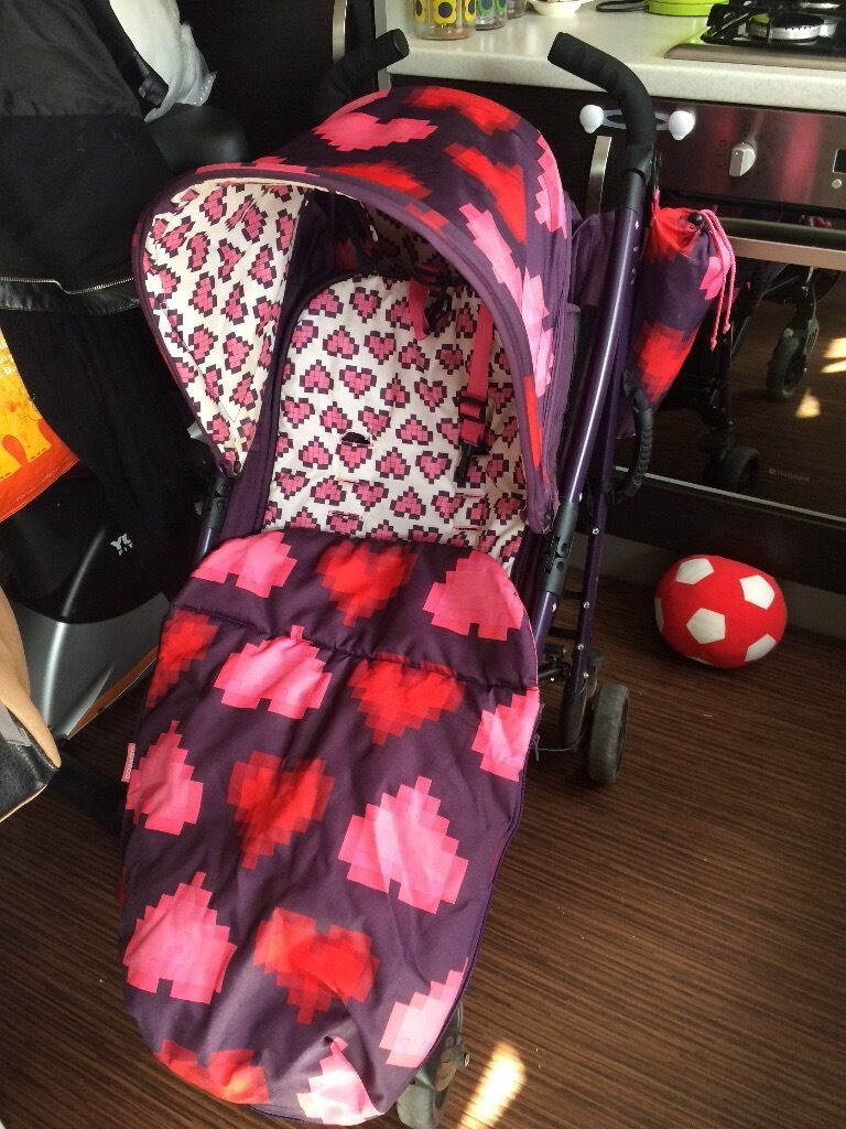 Cosatto pixel hearts pushchair