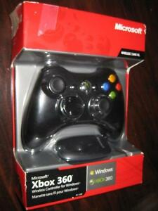 Microsoft Xbox 360 Wireless Controller for Windows PC with USB Receiver. 2.4Ghz. AUX Audio headset jack. NEW
