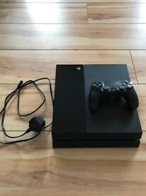 PlayStation 4 1TB, 1 controller, 8 games & turtle beach headphones