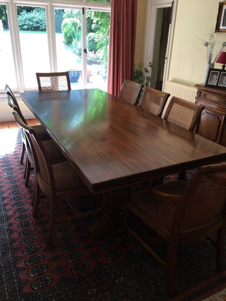 Exceptional Dining Room Table And 8 Chairs John Lewis