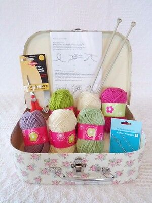 Beginners Knitting Kit Learn how to Knit Everything Included Easy & Gorgeous!  for sale  United Kingdom