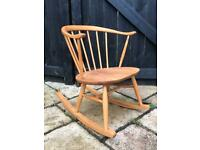 Ercol Cowhorn Rocking Chair