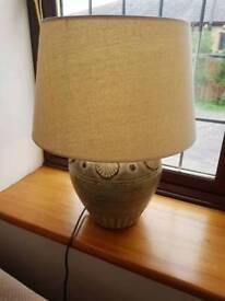 Boutique designer table lamp