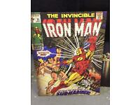 Iron man canvas picture