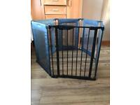 Lindam Safe and Secure Fabric Mesh Playpen