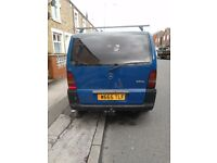 Mercedez benz VITO 110 CDI Panel Van, Engine Size : 2151 CC Diesal (2000) BLUE Manual